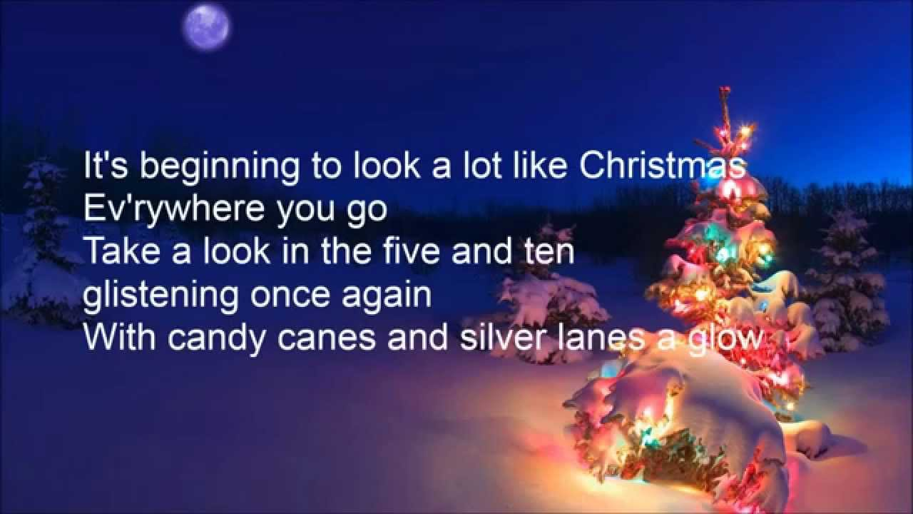 It's Beginning to Look a Lot Like Christmas - Mark Hayes - YouTube