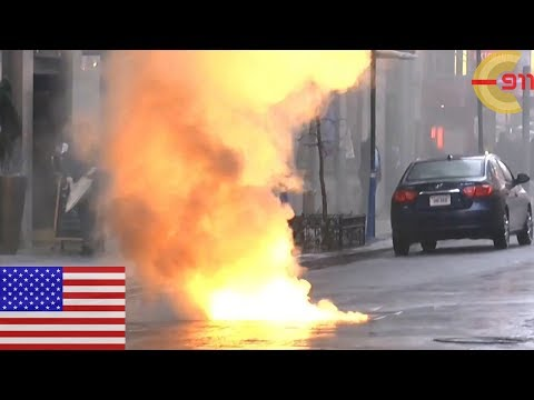 [NEW YORK CITY] Electrical fire at Times Square! Midtown Manhattan (P1)