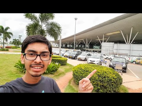 4K! Kempegowda International Airport With Galaxy S7 Edge | VLOG | #RCTravels | Bengaluru | India