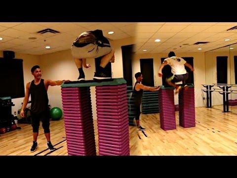 EXTREME BOX JUMP CHALLENGE! (27 BOXES!!)