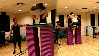 EXTREME BOX JUMP CHALLENGE! (27 BOXES!!)