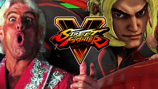 MAX BECOMES RIC FLAIR: Week Of! Ken STREET FIGHTER 5 - Online Ranked