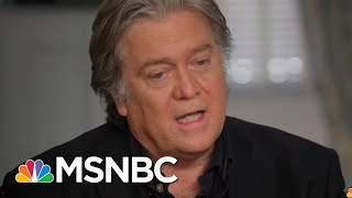 Steve Bannon: Firing James Comey Was 'A Big Mistake' | The Beat With Ari Melber | MSNBC