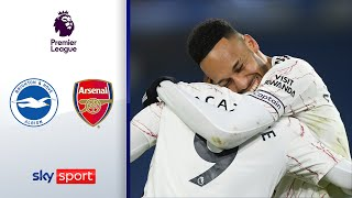 Super-Joker Lacazette erlöst Arsenal | Brighton & Hove Albion - FC Arsenal 0:1 | Premier League