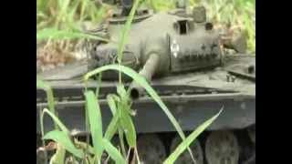the explosions of vstank t 72 m1