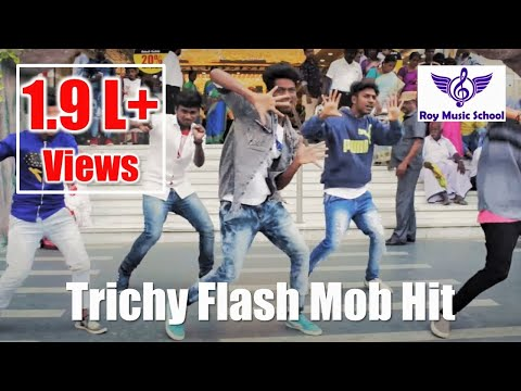 Pothys Trichy - Flash Mob Hit - Event by Roy Music School