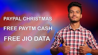Paytm Flat Rs.300 Cashback, Paypal Christmas Offer, Jio Free Data, Airtel Merchant Offer !!