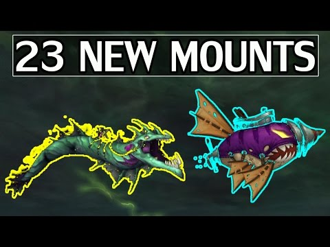 The 23 New Mounts of 7.2 & How to Get (Most) of Them - WoW Legion