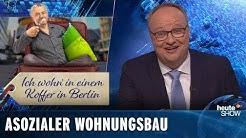 Vonovia: So profitiert der Konzern von der Wohnungsnot | heute-show vom 29.03.2019