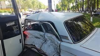 ДТП 21 мая на проспекте Гагарина в Нижнем Новгороде