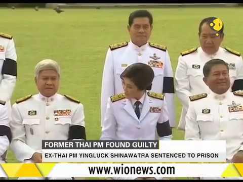 Ex-Thai PM Yingluck Shinawatra sentenced to prison