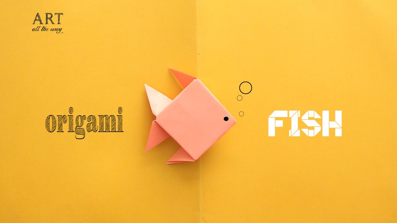 DIY Simple Origami Fish