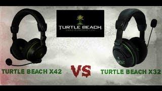 turtle beach x42 vs turtle beach x32