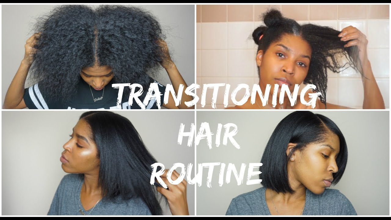 Transition Hair Styles: Wash, Blow Dry & Flat Iron