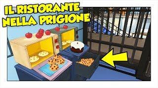 HO APERTO IL MIO RISTORANTE IN PRIGIONE! - The Escapists in Realtà Virtuale (Prison Boss ITA)