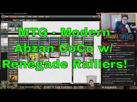 MTG - Modern - Abzan CoCo with Renegade Ralliers!