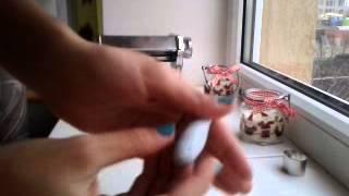 Полимерная глина , видеоурок Пончик