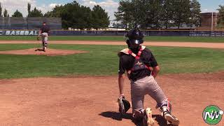Cruz Hepburn - PEC - RHP - Lewiston HS (ID) - July 11, 2018