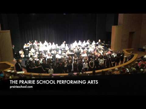 Viva la Vida, (Coldplay) combined Prairie School music students