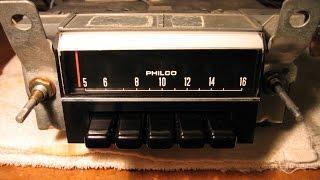 Philco Ford Car Radio Repair and Alignment