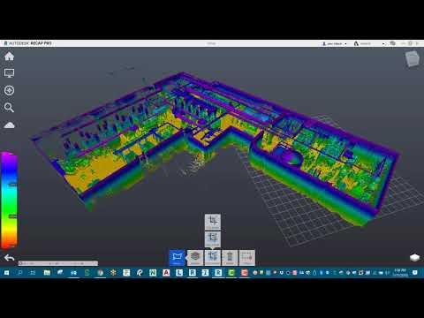 How to eliminate random points with Autodesk Recap