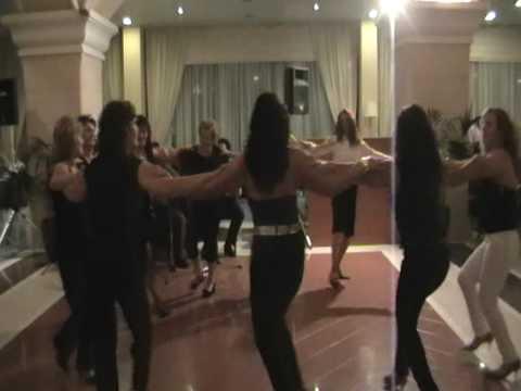 Corfu Chandris Hotel,Greece. Staff  night 2008 season
