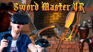 SWORD FIGHTING WORKOUT!  | Sword Master VR - HTC Vive Gameplay
