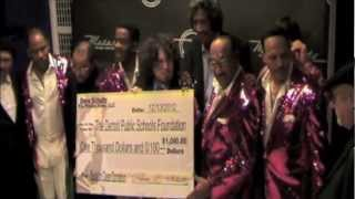 "Motown Legends Give Back to Detroit Public Schools - Drew Schultz ""Back To Class"""