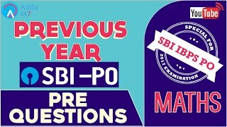 SBI PO 2017 | Previous Year SBI PO PRE Questions | Maths | Online Coaching for SBI IBPS Bank PO