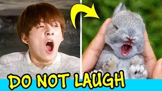 Jungkook Being Bunny - Try Not To Laugh Challenge