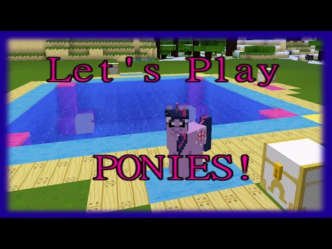 Fishing Games! [93] Mine Little Pony - Minecraft PC