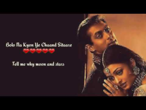 Mere Rang Me Rangne Wali(unplugged) l Salman Khan l Lyrics With Translation