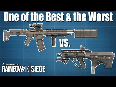 Kaid's AUG A3 vs. TCSG12: Loadout META - Rainbow Six Siege