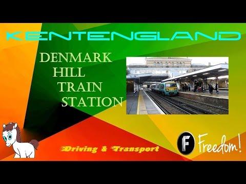 Denmark Hill Train Station.