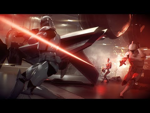 First 2018 stream late Star Wars Battlefront 2, grinding to level 50!