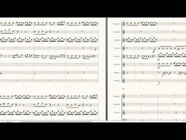 Such Great Heights | Saxophone Arrangement