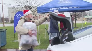 Firefighters 4 Kids collect two semi-trucks full of toys, $47K at toy drive