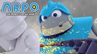 ARPO The Robot For All Kids - DIY in a Storm | Compilation | Cartoon for Kids