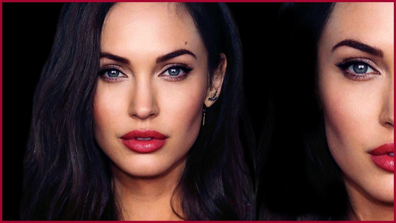 Black Rose Wallpaper Angelina Jolie Megan Fox Hybrid Transformation Makeup
