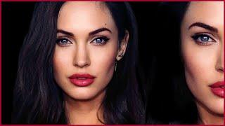 Angelina Jolie + Megan Fox HYBRID TRANSFORMATION Makeup Tutorial | MissJessicaHarlow