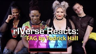 rIVerse Reacts: FAG by Todrick Hall - M/V Reaction