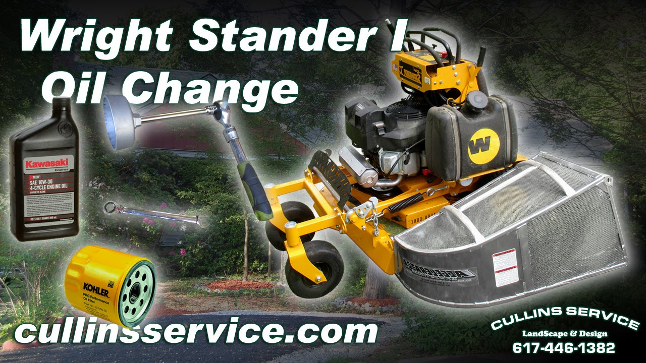 How to DIY Change The Oil On A Wright Stander by Cullins Service | Cullins  Service Landscaping maintenance and design Services Newton, MA - Call  617-446-1382 for a Free Estimate Now - | Wright Stander Fuel Filter |  | Cullins Service Landscaping