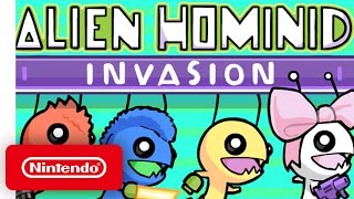 Alien Hominid Invasion - Announcement Trailer - Nintendo Switch