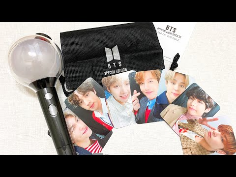 UNBOXING BTS ARMY BOMB MAP OF THE SOUL SPECIAL EDITION