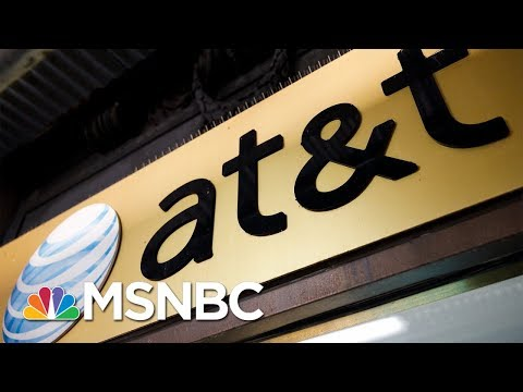 Is Department Of Justice Overstepping In The AT&T-Time Warner Bid? | MSNBC