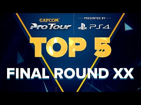 SFV: TOP 5 MOMENTS - FINAL ROUND XX - CPT 2017