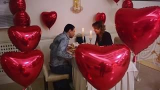 Предложение руки и сердца в Restaurant & Luxury Hall INFINITY