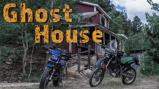 Dual Sport ADVenture | Finding a Ghost Town and Exploring a Secret Cave