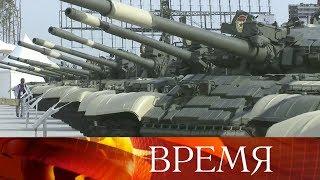 Мощь российской военной техники иуникальные экспонаты представлены нафоруме «Армия-2017».(, 2017-08-22T18:50:37.000Z)