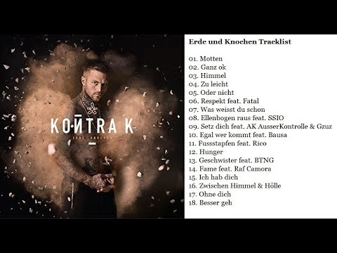 Erde Knochen Kontra K Album Tracklist Youtube
